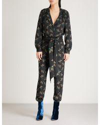 Ba&sh - Fady Crepe Jumpsuit - Lyst