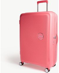 American Tourister Soundbox Expandable Four-wheel Suitcase 77cm - Pink
