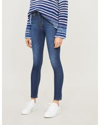 Levi's 721 Skinny High-rise Jeans - Blue