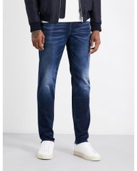 True Religion Geno Slim-fit Relaxed Jeans - Blue