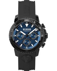 Versus - S30060017 Aberdeen Stainless Steel And Rubber Watch - Lyst