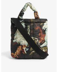 KENZO Horse-print Nylon Tote Bag - Black