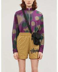 Stussy High-rise Shell Shorts - Multicolour
