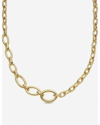 Missoma Graduated Gold-plated Necklace - Metallic