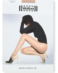 Wolford | Satin Touch 20 Nylon-blend Tights | Lyst