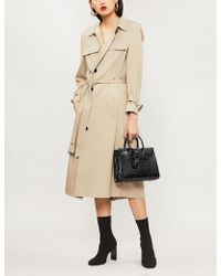 The Kooples - Twill Trench Coat - Lyst