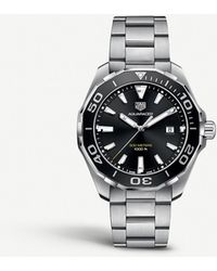 Tag Heuer Way101a.ba0746 Aquaracer Stainless Steel Watch - Metallic