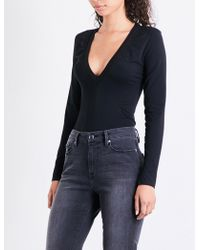 GOOD AMERICAN - Deep V-neck Body - Lyst