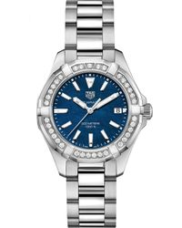Tag Heuer - Way131n.ba0748 Aquaracer Stainless Steel And Diamond Watch - Lyst