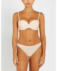 Chantelle Absolute Invisible Strapless Stretch-jersey Bra - Natural