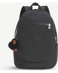 Kipling Clas Challenger Medium Nylon Backpack - Black
