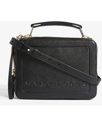 Marc Jacobs The Box Bag Leather Cross-body Bag - Black