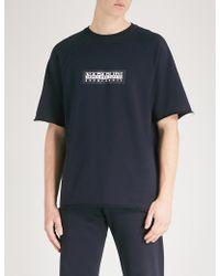 Napapijri - Logo-print Cotton-jersey T-shirt - Lyst