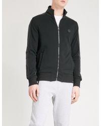 Michael Kors - Funnel Collar Cotton-blend Jacket - Lyst