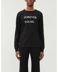 The Soloist - Forever Young Cotton-jersey Top - Lyst
