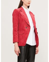 Sandro - Textured Cotton Shirt - Lyst