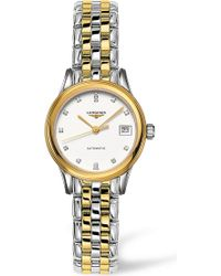 Longines - Yellow Gold & Diamond Watch - For Men - Lyst