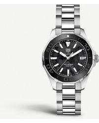 Tag Heuer Way131k.ba0748 Aquaracer Stainless Steel Watch - Black