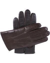 Dents - Touchscreen Technology Leather Gloves - Lyst