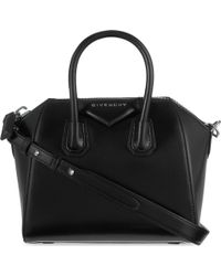 Givenchy - Antigona Mini Leather Tote Bag - Lyst