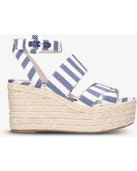 Nine West - Kushala Wedge Heel Sandals - Lyst
