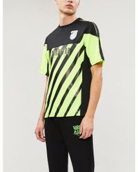 Trapstar Striped Sports-jersey Football Top - Multicolour