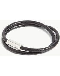 Miansai - Bare Double-wrap Leather Bracelet - Lyst