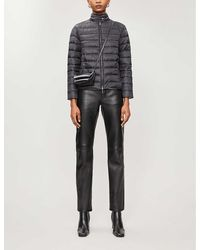 Emporio Armani Quilted Shell Jacket - Black