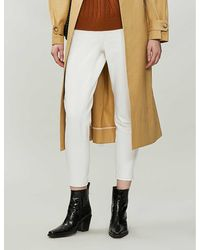 TOPSHOP Hite Mom Tapered Jeans - White