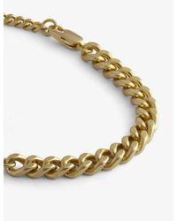 Oroton Felix Gold-toned Brass Bracelet - Metallic