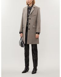 Zadig & Voltaire Mumy Wool-blend Coat - Natural