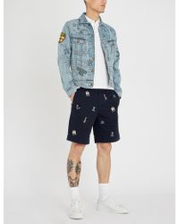 Polo Ralph Lauren - Logo-embroidered Cotton Shorts - Lyst