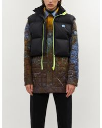ADER error - Cropped Shell-down Gilet - Lyst
