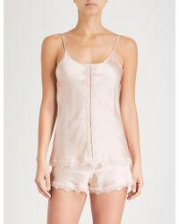 Nk Imode - Ulrika Silk-satin Pyjama Shorts - Lyst