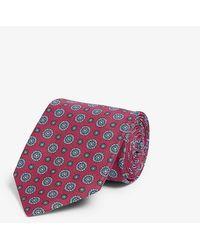 Eton of Sweden Silk Tie - Red