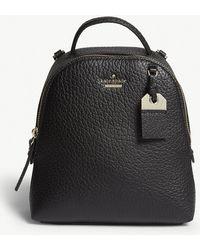 Kate Spade - Black Carter Street Mini Caden Leather Backpack - Lyst