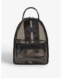 Herschel Supply Co. Nova Mini Transparent Backpack - Black
