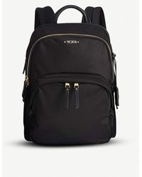 Tumi Dori Leather Backpack - Black