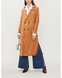 Free People - All Night Woven Coat - Lyst