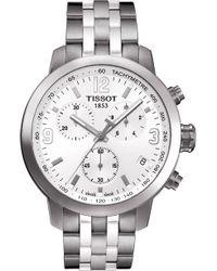 Tissot - T055.430.11.017.00 Prc 200 Stainless Steel Watch - Lyst