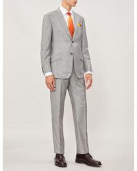 Richard James - Tailored-fit Wool And Cashmere-blend Suit - Lyst