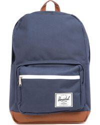 Herschel Supply Co. Mens Blue Pop Quiz Backpack
