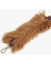 See By Chloé Wool And Leather Bag Strap - Brown