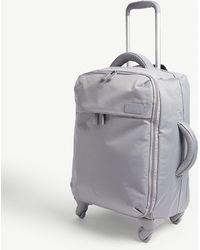 Lipault Originale Plume Four-wheel Cabin Suitcase 55cm - Grey