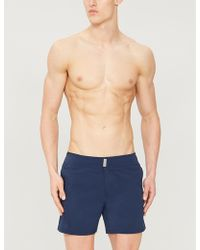 Vilebrequin Merise Colour-blocked Swim Shorts - Blue