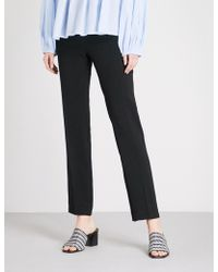 Ba&sh - Steady Straight Mid-rise Woven Trousers - Lyst