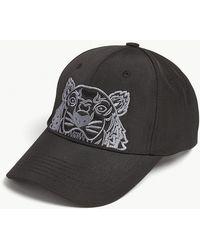 KENZO - Tiger Logo Baseball Cap - Lyst