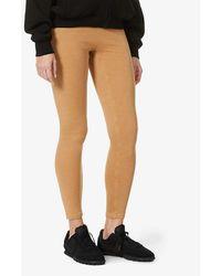 Reebok X Victoria Beckham - Travel High-rise Stretch-knit leggings - Lyst