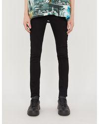 Ksubi Chitch Slim-fit High-rise Stretch-denim Jeans - Black