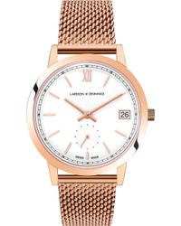 Larsson & Jennings - Saxon Rose Gold-plated Stainless Steel Watch - Lyst